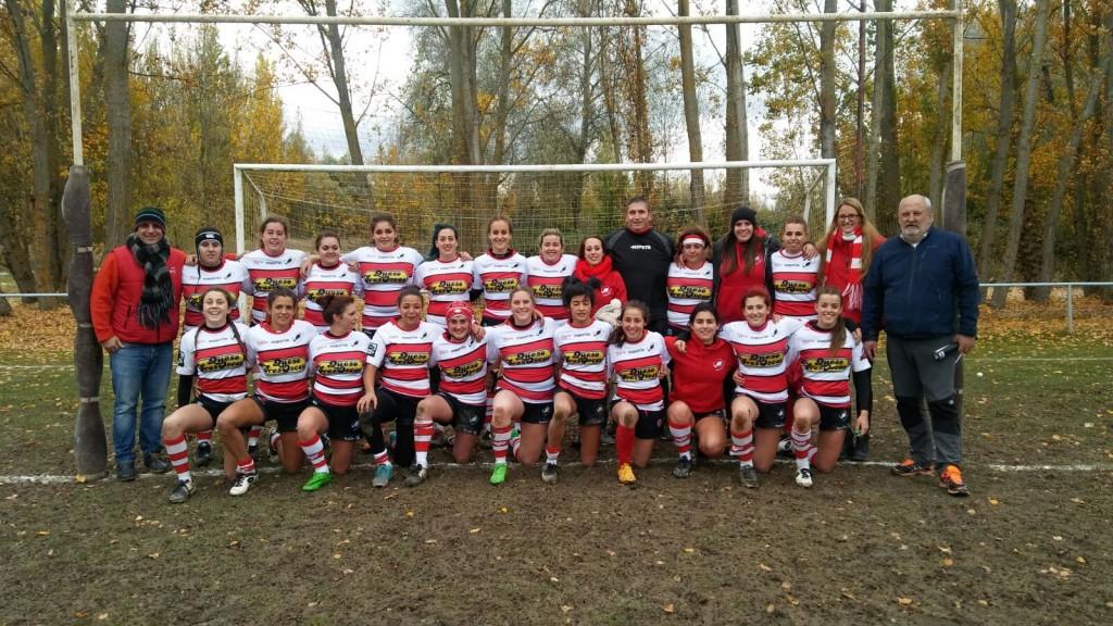 Equipo Femenino Gijón Rugby Club - Universidad de Oviedo