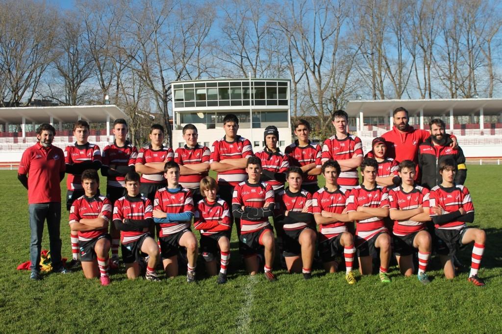 Equipo Infantil del Gijón Rugby Club - Universidad de Oviedo